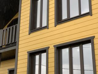 Каркасный дом по проекту КД 012 с террасой в комплектации «С отделкой + Инженерный пакет», в КП «Прилесный 2», Всеволожский район