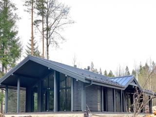 Каркасный дом по проекту КД 019 в СНТ Молодежное, Выборгский район