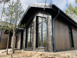 Каркасный дом в комплектации «С отделкой + Инженерный пакет» по проекту КД 066, СНТ «Фауна» (Петергоф)
