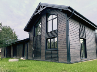 Каркасный дом в комплектации «С отделкой + Инженерный пакет» по проекту КД 060, СНТ «Фауна» (Петергоф)